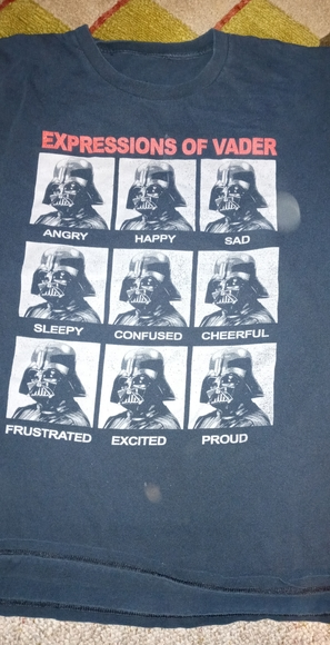 Expressions of Vadar